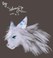 Doodles of myself(wolf model) by Siveryyao
