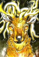 Hirten Stag by ClaraBacou