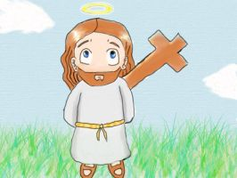 Chibi Jesus by Ozultima