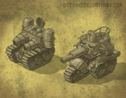 Little tanks by Ottinho