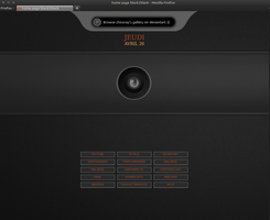 Black2black start page by chicoray