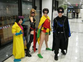 MC 2012 - Jubilee, Ms. Marvel, Robin, Nightwing by vincent-h-nguyen