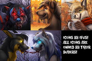 Halloween Icons Batch 2 by Ifus