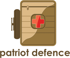 Logo patriot defence  by Voloshina