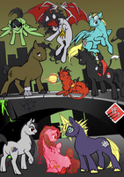 My Little Pony meets Final Fantasy VII by SoraNoRyu