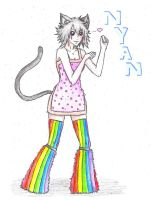 Nyan Cat - Humanized by TOXIICchiichii