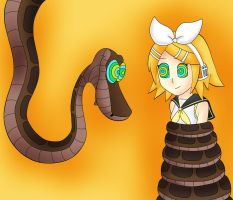 Kaa And Rin Kagamine Color by jerrydestrtoyer
