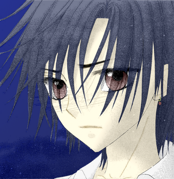 Natsume Hyuuga - Concerened by ineap09