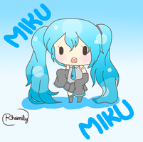 Miku Fanart by YoungDoodler