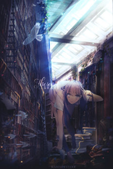 [T.R.14]The Secret Library by karindeviant