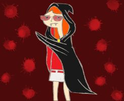 Candace the Sad Vampire by HyperForceGo