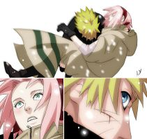 NaruSaku - Chapt. 484 by NightLiight