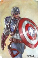 Captain America... by ssava