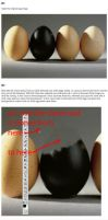 Glass Egg Tutorial - Photoshop by PSHoudini