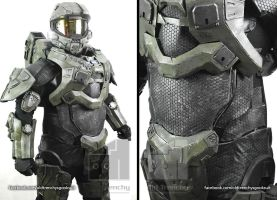 Halo 4 Master Chief (undersuit first trial) by Old-Trenchy