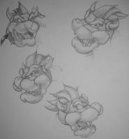 Study of Bowser by Tousen48