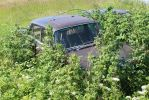 What a loss . Wreck of a Mercedes W 110 by boundfighter