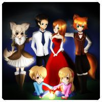 This is my (imaginay) family! by Maggie-and-Day