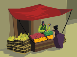 That Annoying Fruit Stall by AlyssaWiggen