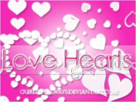 Love Hearts.Brushes by OurLoveAlways