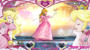 MMD Nintendo:Princess Peach Final Smash by AmaneHatsura