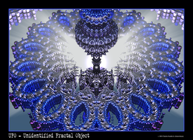 UFO - Unidentified Fractal Object by fraterchaos