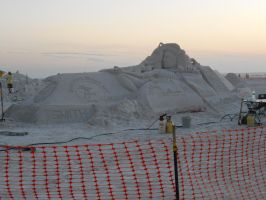 Sand Sculptures In Florida by sonicexpertfan10