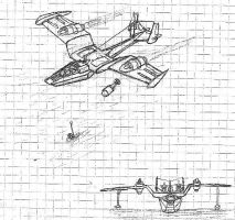 Swan Amphibious Plane Concept by packie1984