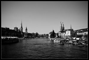 Down the Limmat by ceramic83