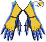 Felidae Gauntlets - Retouched by C-Hillman