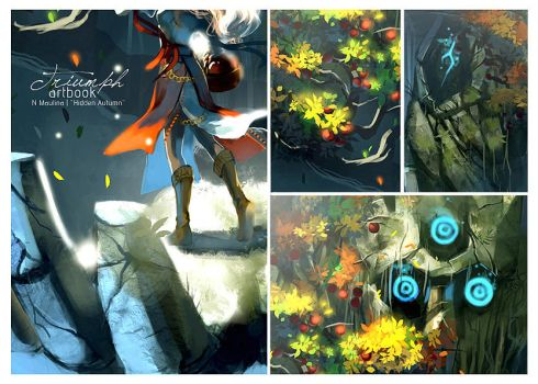 Triumph Artbook Preview by N-Maulina