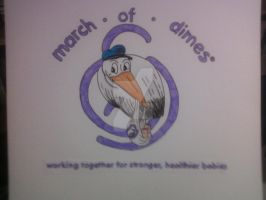 MARCH OF DIMES T-SHRT DESIGN by shawncomicart