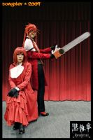 Red and Grell by songster69