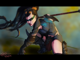 Headhunter Nidalee by GGgunner47