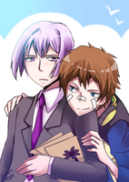 Hamatora: Clinging on you by fenaru