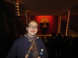 Me at the Lion King theatre 2 by purplekatz93