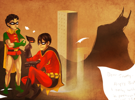 Snotty: Robins by sadnobody