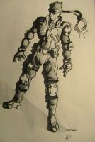 Solid Snake. by yanharrison