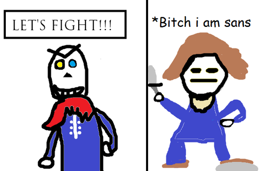 The Best Undertale Comic I Just Made by Mathias001