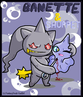 Banette and Shuppet by FantasyFreak-FanGirl