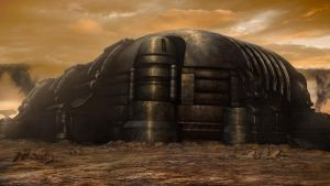Riddick matte painting 2 by danielsyzygy