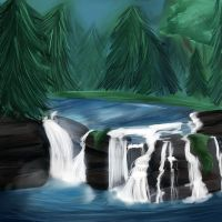 Background Practice 1 by Angel-soma