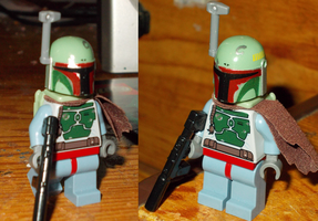 Lego Boba Fett Mini Fig by TMNTFAN85
