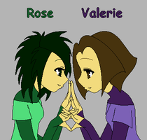 Rose and Valerie by JouYasha