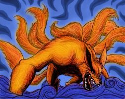 Kurama - A Force of Nature by SupremeDarkQueen