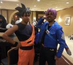 Goku and Trunks by R-Legend