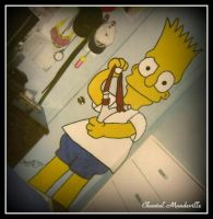 Bart Simpson by artistmember