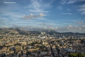 La Cite Phoceenne by Aneede