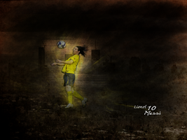 Lionel Messi by Salih0vic