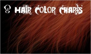 8 Hair Color Charts by maskimxul
